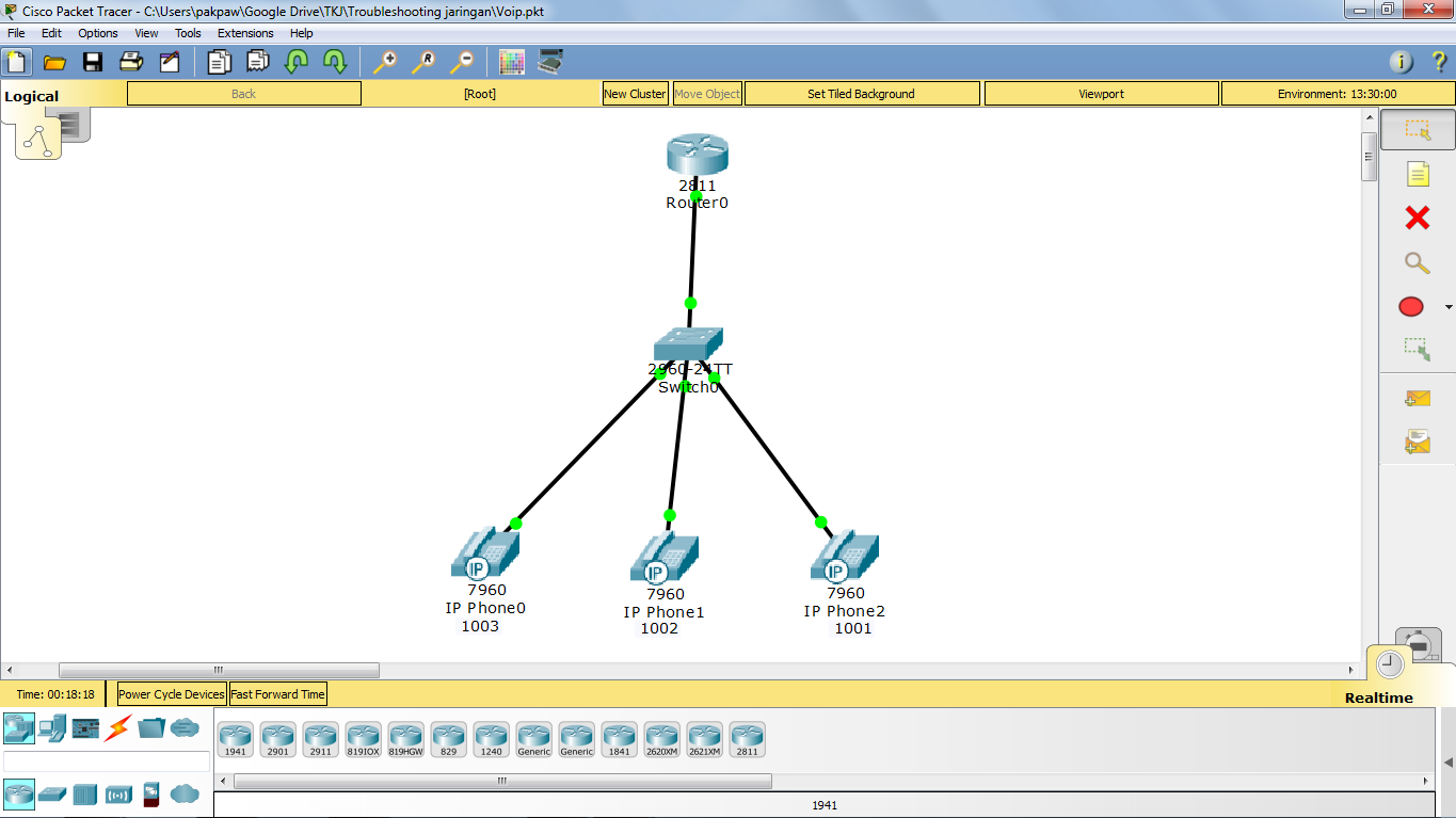 Config VOIP